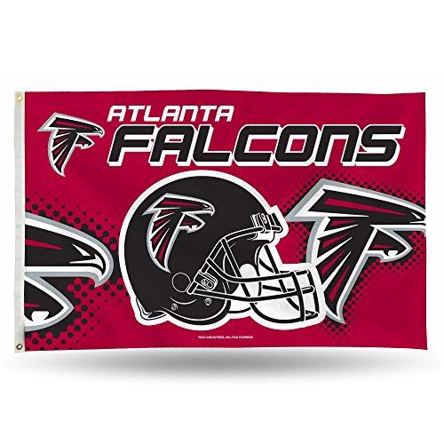 NFL Atlanta Falcons Banner Flag 3-Foot by 5-Foot