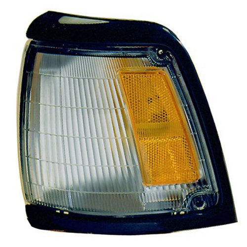 1992-1995 Toyota Pickup Truck 2Wd 4X2 (With Black Trim, Paint To Match) Corner Park Light Turn Signal Marker Lamp Left Driver Side (1992 92 1993 93 1994 94 1995 95)