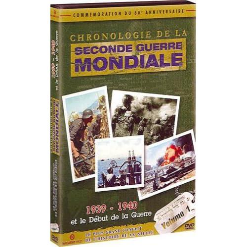 Chronologie de la Seconde Guerre Mondiale : L'intégrale  Coffret 6 DVD