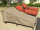 Patio Chaise covers with Velcro 84&quot;Lx30&quot;W