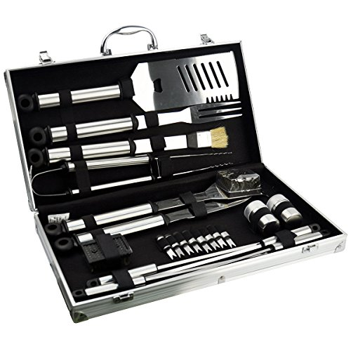 vivo-c-21pc-stainless-steel-bbq-tool-barbecue-utensil-camping-set-cutlery-garden-home