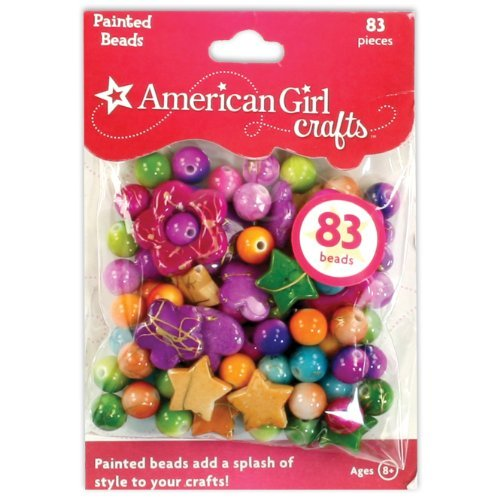 83 Beads - American Girl Crafts Painted Beads