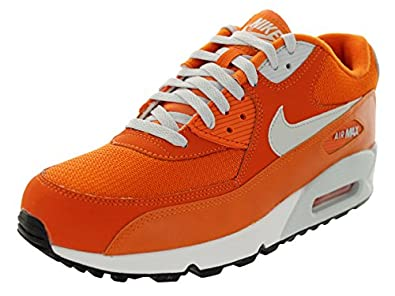 Nike Men's Air Max 90 Essential Solar Orange/Lt Base Grey/Sail Running Shoe 7.5 Men US