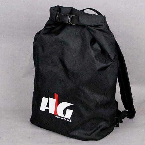 AG防水リュックサック シートバッグ バックパック デイパック アウトドアー 黒 新製品 完全防水