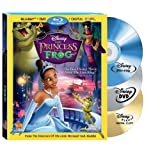 The Princess and The Frog (Three Disc Combo: Blu-ray/DVD + Digital Copy) ~ Anika Noni Rose
