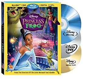 The Princess and the Frog (Three-Disc edition) [Blu-ray + DVD + Digital Copy] (Bilingual)
