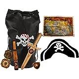 Best 7 Piece Kids Play Pirate Bundle