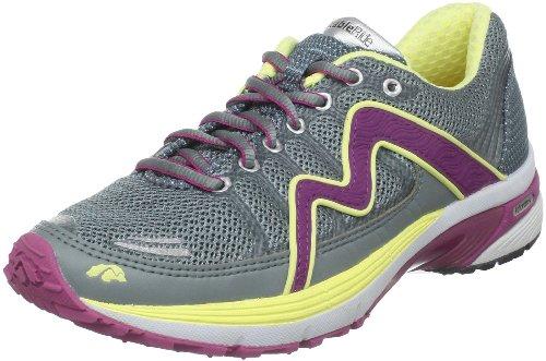 Karhu Women's Stable2 Fulcrum-Ride Running Shoe,Light Carbon/Purple Crush/Gold Dust,7 M US