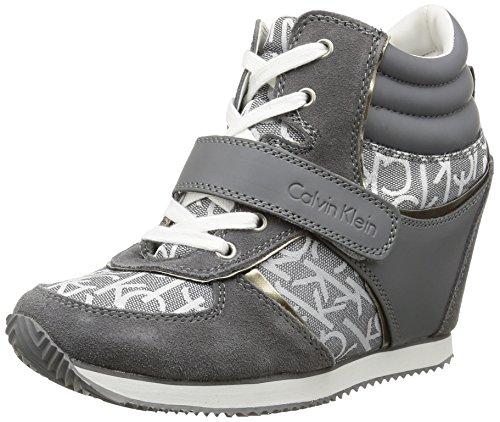 Calvin Klein Jeans - Viridiana, Sneakers da donna, grigio (pwr), 36