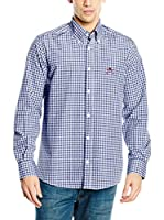 POLO CLUB Camisa Hombre Academy Trend (Azul Marino)