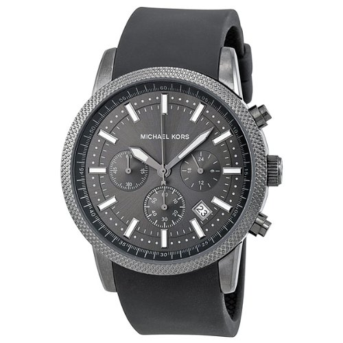 Michael Kors Chronograph Silicone Strap Watch - MK8241
