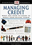 Essential Finance Series: Managing Credit (0789463164) by Robinson, Marc
