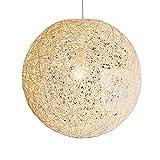 Invicta Interior Cocoon L Stylische Hängeleuchte weiß 45cm