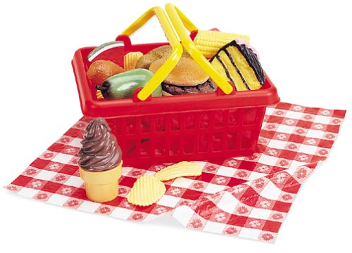 Learning Resources Picnic Play Food Basket, Set of 16 - Buy Learning Resources Picnic Play Food Basket, Set of 16 - Purchase Learning Resources Picnic Play Food Basket, Set of 16 (Learning Resources, Toys & Games,Categories,Pretend Play & Dress-up,Sets,Cooking & Housekeeping,Play Food)