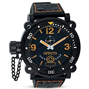 Invicta 7271 Men's Signature Lefty Russian Divers Black Dial Watch