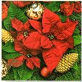 Paper+Design ペーパーナプキン  クリスマス フラワー  60373