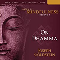 Abiding in Mindfulness, Vol. 3: On Dhamma  by Joseph Goldstein Narrated by Joseph Goldstein