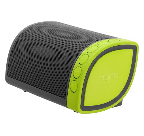 Nyne Multimedia Inc Cruiser Portable Bluetooth Speaker (Grey/Green)