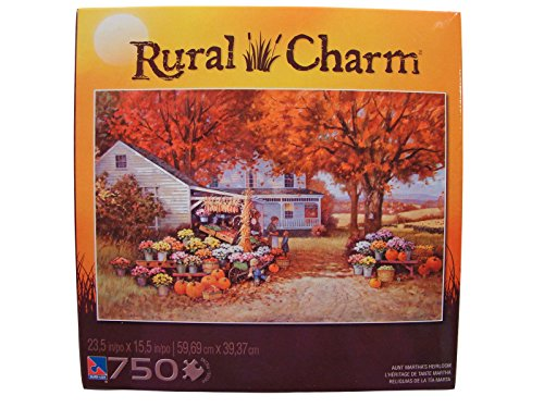Rural Charm 750 Piece Jigsaw Puzzle: Aunt Martha's Heirloom