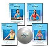 Physique 57 Get Fit Fast 4 DVD Amazon Exclusive Workout Kit
