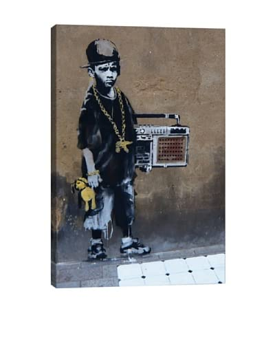 Banksy Bboy Giclée On Canvas As You See