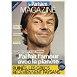 PARISIEN MAGAZINE (LE) [No 21208] du 16/11/2012 - NICOLAS HULOT RACONTE LA SAGA USHUAIA - J'AI FAIT L'AMOUR AVEC...