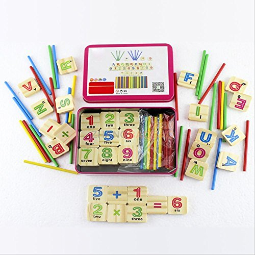 79pcs-kids-wooden-counting-stick-number-card-math-early-learning-educational-toy