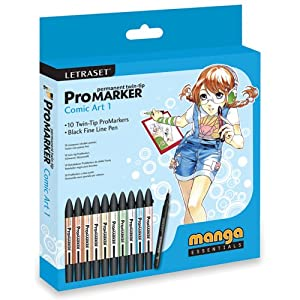 ProMarker Comic Art Set 1