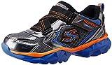 Skechers Boy's Hypersonic Gunmetal Royal Sports Shoes - 3 kids UK/India(36 EU)(4 US)