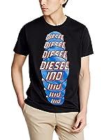 Diesel Camiseta Manga Corta T-Palagia (Negro)