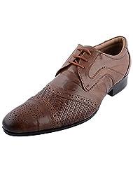 D.Desire Men's Leather Formals & Lace-Up Flats - B00Y1EFXSU