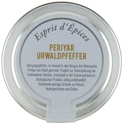 Esprit d' Épices Periyar Urwaldpfeffer, 1er Pack (1 x 40 g) von Esprit d' Épices - Gewürze Shop