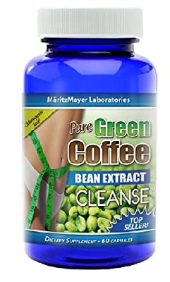 Pure Green Coffee Bean Extract CLEANSE 60 capsules