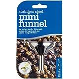 Kitchen Craft Stainless Steel Mini Funnel 5.5cm