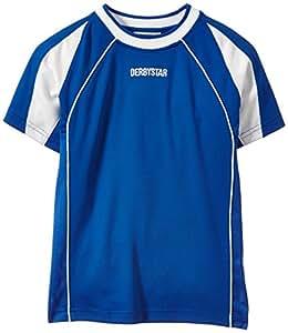 Derbystar Rio Maillot Enfant Manches courtes bleu / blanc 14-15 ans (164 cm)
