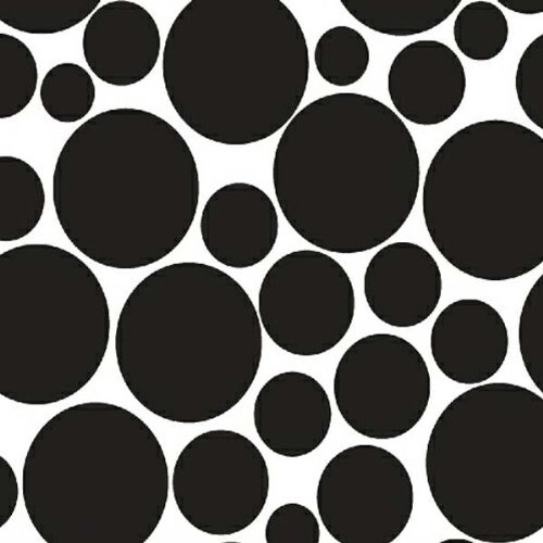 For sale SheetWorld Fitted Pack N Play (Graco) Sheet - Black On White Dots - Made In USA