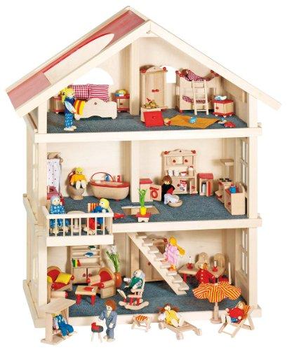Goki 51957 - Casa delle Bambole, 3 Piani
