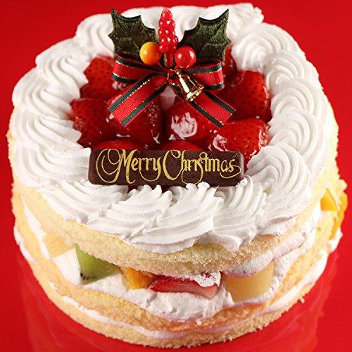 クリスマスケーキ 2015 天使のフルーツショートケーキ 5号(4~6名) オーガニックサイバーストア
