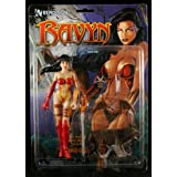 RAVYN from the Hit Comic Book Series THE RAVENING Avatar Press 7 Inch RENDITION 1998 Action Figure & Accessories ~ Rendition