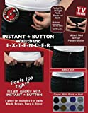 Instant Button Waistband Extender (8 Pack)