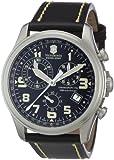 Victorinox Swiss Army Men's 241314 Infantry Vintage Chronograph Black Dial Watch
