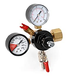 E.C. Kraus Economy: Co2 Regulator / Double Gauge