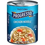 Progresso Traditional Soup, Chicken Noodle, 19-Ounce Cans (Pack of 6)