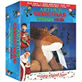 Arthur Christmas (Bilingual) [Blu-ray + DVD + Reindeer Plush]