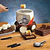 SMORES MAKER COMPLETE SET (INCLUDES: SMORES MAKER, STEEL GRILL, FUEL HOLDER, FLAME SNUFFER, 4 FORKS AND 4 PLATES!), Garden, Lawn, Maintenance