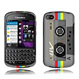 51BDyKpFBuL. SL160  BlackBerry Q10 Vintage Cassette Rubberized Cover