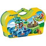 Playmobil 6792 1.2.3 Take Along Zoo & Aquarium