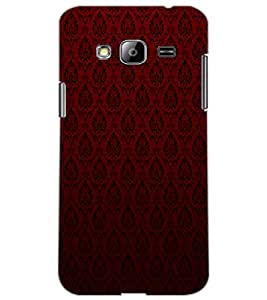 SAMSUNG GALAXY J3 PATTERN Back Cover by PRINTSWAG