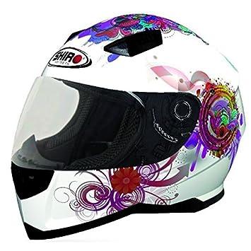Taille: 2XL Protectwear casque de moto FS603-SW noir-blanc casque de cross casque Enduro
