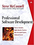 img - for Professional Software Development: Shorter Schedules, Higher Quality Products, More Successful Projects, Enhanced Careers book / textbook / text book